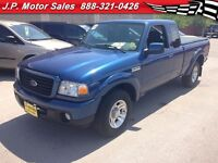 2009 Ford Ranger Sport, Extended Cab, Manual, Tonneau Cover, RWD