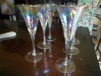 Set of 6 Lovely Cocktail Glasses