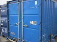 8ft X 8ft Used Shipping Container FOR SALE ONLY £1050+VAT cheap site store portable cabin SCOTLAND