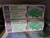 Propagator x4 and greenhouse covers