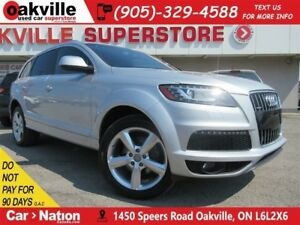 2015 Audi Q7 3.0 TDI Progressiv | LEATHER | AWD | B/U CAM