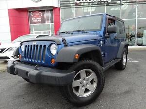 2010 Jeep Wrangler TRAIL RATED//CRUISE/4X4/MANUELLE