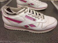 Reebok classic ladies trainer