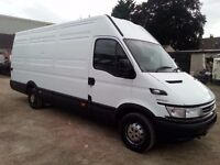 IVECO DAILY 35S12 2.3 HPI LONG WHEEL BASE HIGH ROOF VAN WITH MOT
