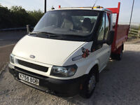 mk6 Ford Transit Tipper - Brillaint condition - Ready to work - Long MOT 2017 with Tow Bar - LEDs