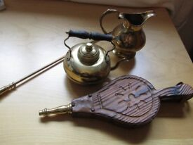 Brassware Fireside selection - collectibles