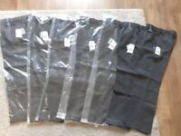7 pairs boys grey school trousers-Next Age 10-cost £63-Never worn-Perfect condition-Can split bundle