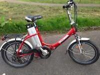 AXCESS Shetland folding electric bike with charger