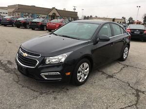2015 Chevrolet Cruze LT/BLUETOOTH/BACKUP CAMERA/REMOTE START/SIR