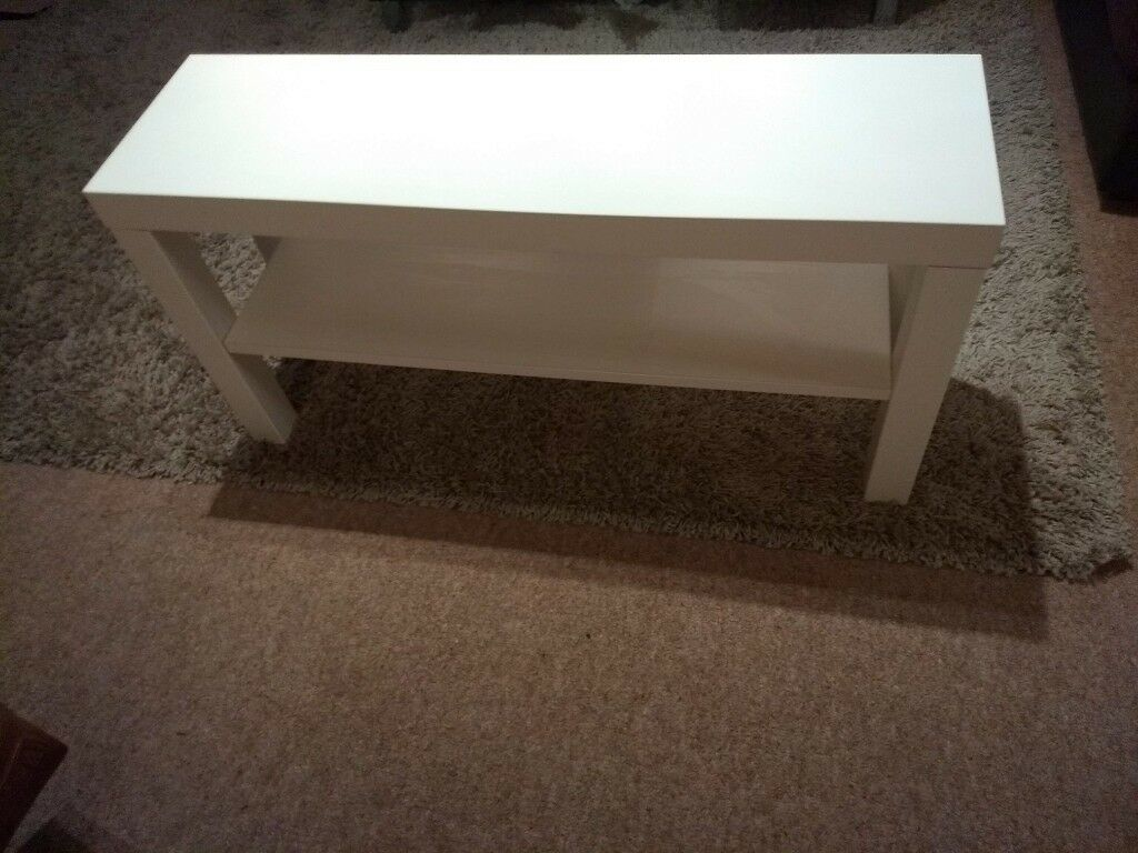 Fine White Coffee Side Table Ikea In Southampton Hampshire Gumtree Gmtry Best Dining Table And Chair Ideas Images Gmtryco