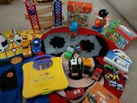 Boys toy bundle & Mickey mouse rug