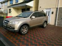 2008 Chevrolet captiva 4x4 auto 7 seater
