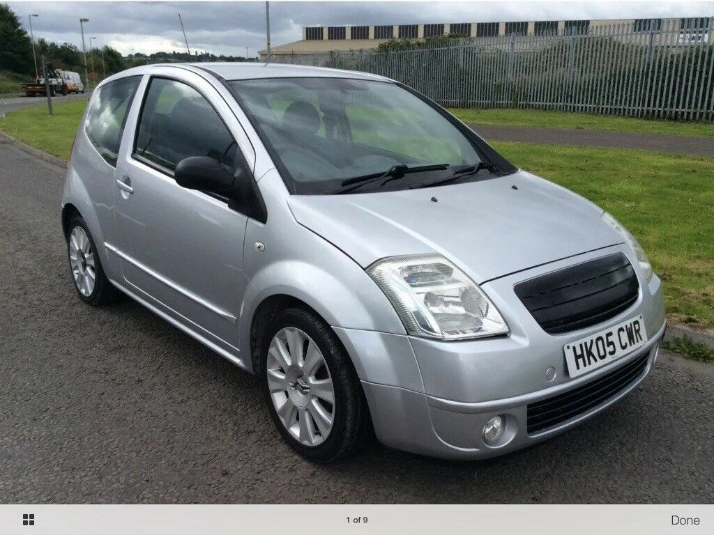 Citroen C2 SX 3dr h/back.