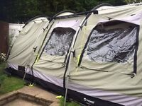 Outwell Bear Lake 4 polycotton camping tent (sleeps 4)