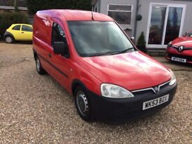 Vauxhall Combo 1.7 Di van. 2003 in red. One Fire Service owner.