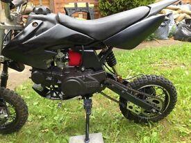 Semi automatic pit bike