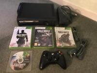 Xbox 360 console & call of duty games
