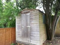8' x 6' Garden Shed - Good condition