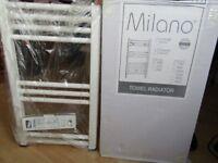 White Towel Radiator