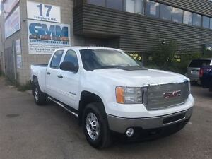 2012 GMC SIERRA 2500HD SLE Crew Cab Short Box 4x4 Gas
