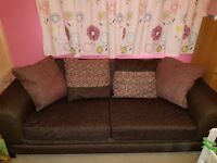 DFS 3 seater sofa bed