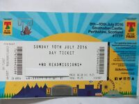 T IN THE PARK SUNDAY DAY TICKET !!!!!! ASAP !!!!