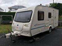 2005 Bailey Discovery 2 3 or 4 Berth Lightweight Caravan