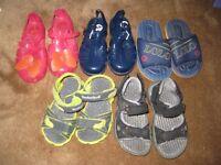 Five Pairs of Children's Sandals