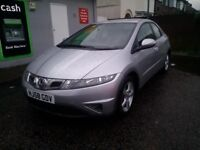 Honda Civic 58 1.4 Petrol AUTOMATIC Full Service/H 5 doors 2 KEYS low mileage fully loaded very good