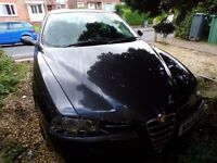 Alfa Romeo 156 Lusso JTS 2lt For Spares or Repair, Non runner