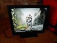 "GVision P19BH-AB 19""LCD TOUCHSCREENNever Used/Inc Stand,Power Lead&USB Lead/Excel"