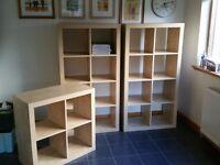 3 x IKEA shelving units