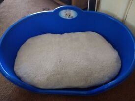 Brand New plastic dog bed