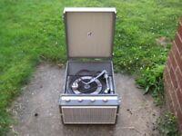 Vintage Record Player Decca Deccalian MK4
