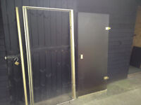 Shower door and frame great condition BARGAIN very high quality