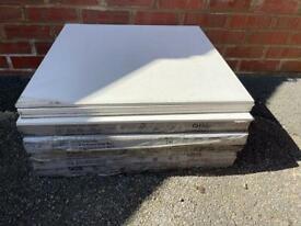White Matt porcelain floor / wall tiles