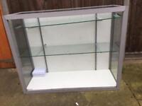 Shop display glass counter