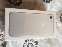 iPhone 7 BrandNew sealed 32gb white/silver