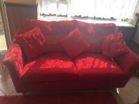 DFS 3 & 2 seater sofas