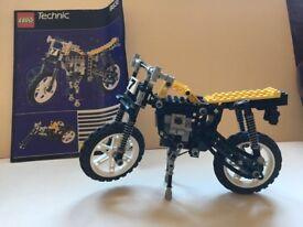 Lego motorbike with instructions