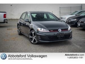 2016 Volkswagen Golf GTI 5-Door Performance
