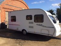 sprite alpine 2008 model all paperwork 4 berth fixed bed
