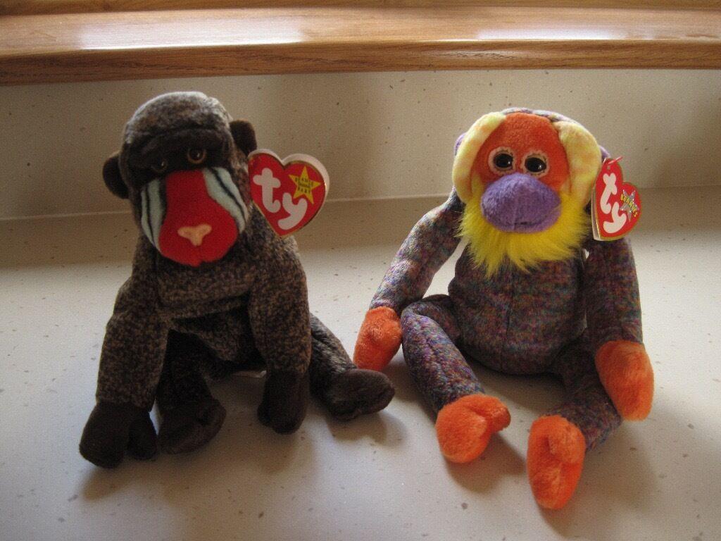 845f9b59b4e Ty Beanie Baby Baboon   Monkey