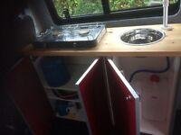 Camper kitchen pod