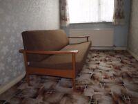 retro bed settee