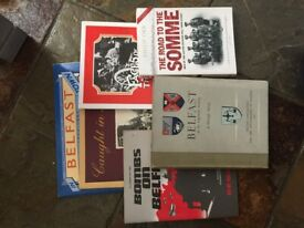 Local History Book collection of Norther Ireland - some rare and out of Print