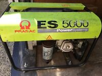 PRAMAC ES 5000 Power systems - Output: 4.5kw - £ 400 or exchange with carpentry tools