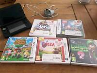 Nintendo 3ds 5 games