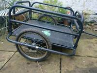 Bicycle Trailer (Skiiddii Foldable 60kg capacity)