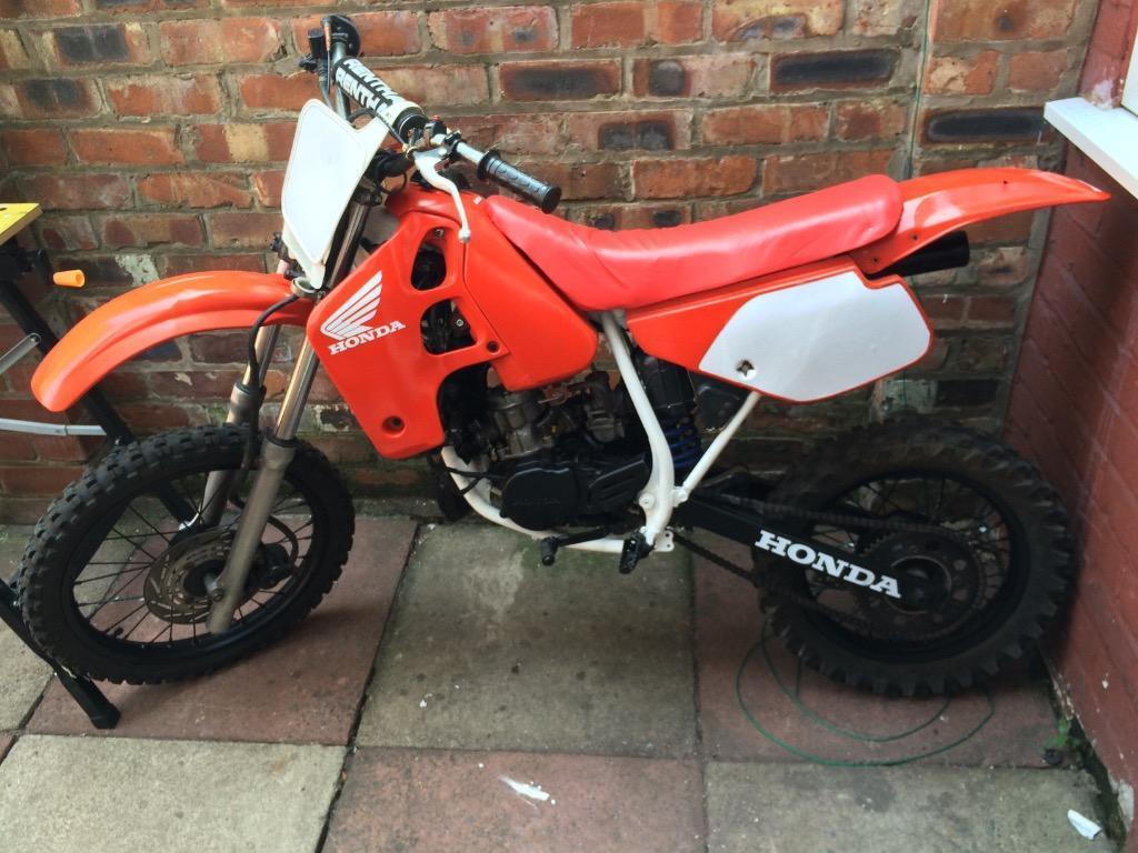 honda cr80 85 for sale or swap red rocket motocross bike rare bike 125 250 yz rm kx in. Black Bedroom Furniture Sets. Home Design Ideas